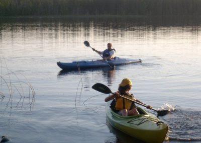Kayak lac Dôle