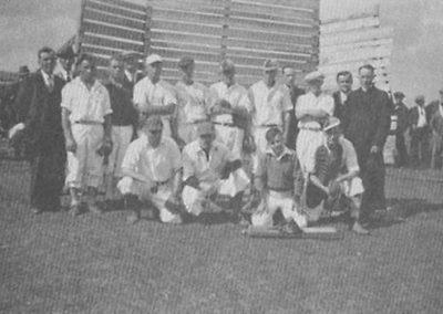 Équipe de baseball 1934