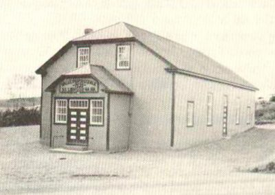 Salle paroissiale en 1939